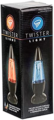 Funtime Gifts Twister Water Tornado LED Colour-Changing Lava Lamp,...