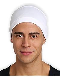 Cooling Cap/Helmet Liner/Skull Cap/Running Beanie - Ultimate Performance Moisture Wicking. Fits under Helmets