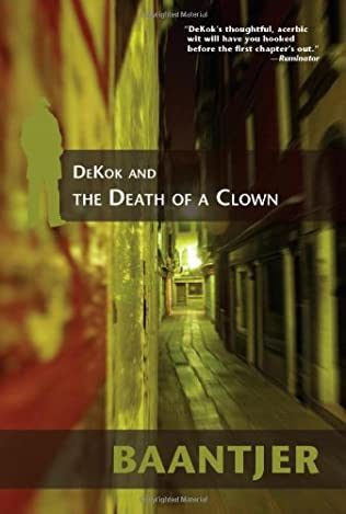 book cover of Dekok and the Death of a Clown
