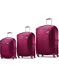 "Samsonite MIGHTlight Luggage Nested Spinner Set (21""/25""/30"") Berry 62650-1944"