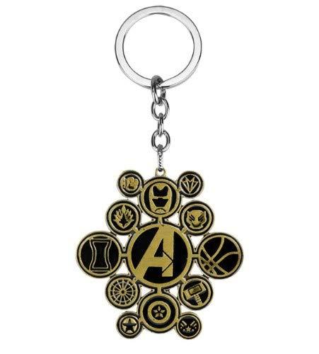 Accessorisingg KC064 - Llavero Inspirado en los Vengadores ...