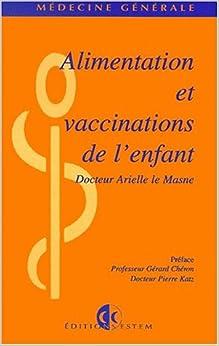 Book Alimentation et vaccination de l'enfant