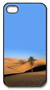 Cassandra Craine's Shop Rugged iPhone 4S Case,Desert Palm Polycarbonate PC Plastic Hard Case Cover for Apple iPhone 4S/4 Black 2011146M89448271