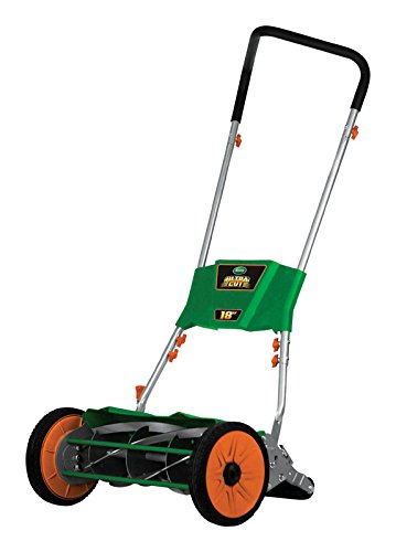 Scotts Outdoor Power Tools 515-18S Ultra Cut Reel Lawn Mower, 18-Inch, Green ()