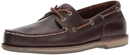Rockport Men's Perth Shoe, Beeswax/Dark Brown, 12 W US by Rockport