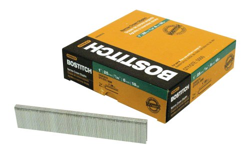 BOSTITCH SX50351-1/2G 1-1/2-Inch by 18 Gauge by 7/32-Inch Crown Finish Staple (3,000 per Box) by BOSTITCH