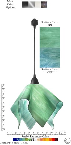 Sea Glass Colored Pendant Lights in US - 6