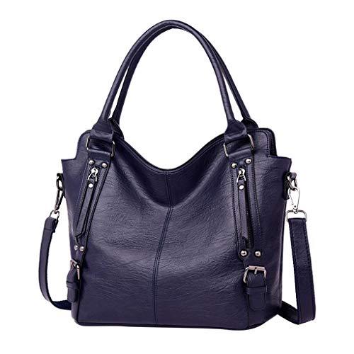 Bucket Bags Handbag for Women,Kangma Women Fashion Large Capacity Crossbody Bag Hobo Purse Faux Leather ()