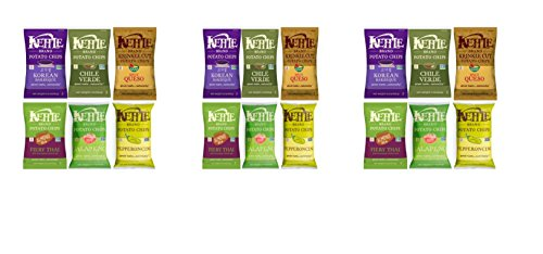 Kettle Brand 6 Levels Of Heat 6 Flavors 18 Count 5 Oz Big Bags