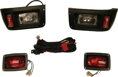Premium Club Car DS Golf Cart Headlight -Tail Light Kit