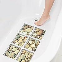 Watooma. Adhesivos para bañera, antideslizantes, de colores. Adhesivo