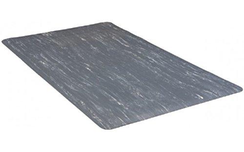 "buyMATS Inc. 3' x 60' Marble Foot 1/2"" Rubber Gray 39-066-0700-30006000"