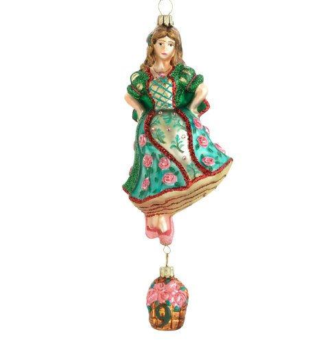 12 Day Christmas Tree Ornaments - Reed & Barton 12 Days of Christmas Nine Ladies Dancing