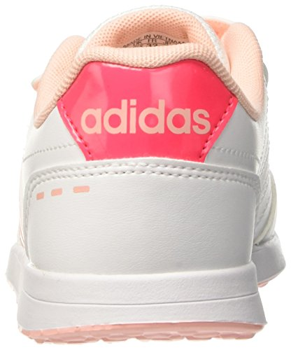 adidas Vs Switch 2.0 CMF C, Zapatillas Unisex Niños Blanco (Ftwwht/hazcor/shored)