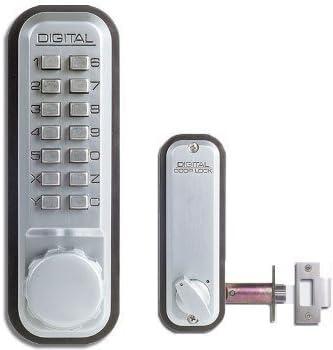 Lockey 2230-ob-dc mecánico de bloqueo sin llave portero de función doble cara combinación – BRONCE aceitado