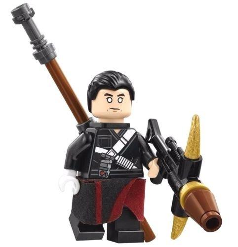 LEGO Star Wars: Rogue One - Chirrut Îmwe Warrior Monk Minifigure (Minifig Set)