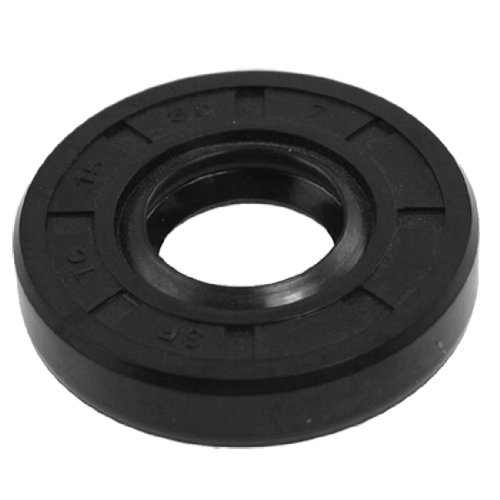uxcell Metric Rotary Shaft Oil Seal 15 x 35 x 7 15x35x7mm TC Double Lipped