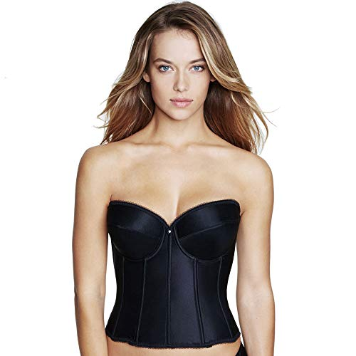 Dominique Rachelle Longline Bra 40 DD Black