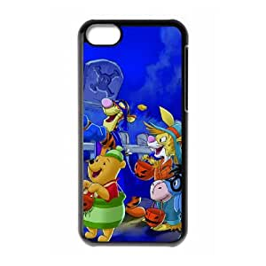 iPhone 5c Cell Phone Case Black Tigger & Pooh and a Musical Too 09 Bwsod