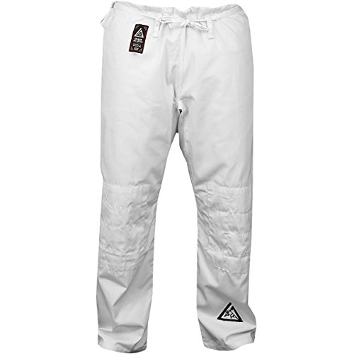 Gracie Jiu-Jitsu Gi Pants - 5 - White (Jiu Jitsu Gi Pants)