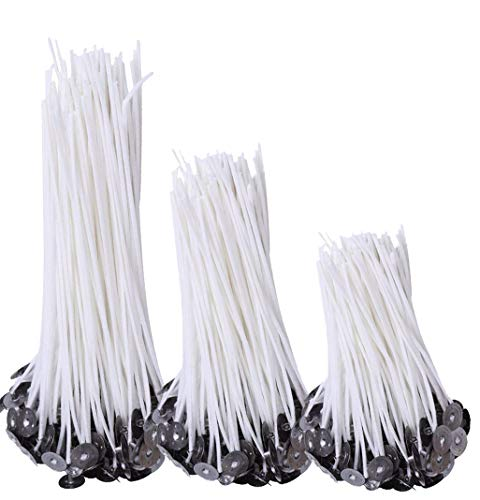 150pcs Natural Candle Wicks, 50pcs 8