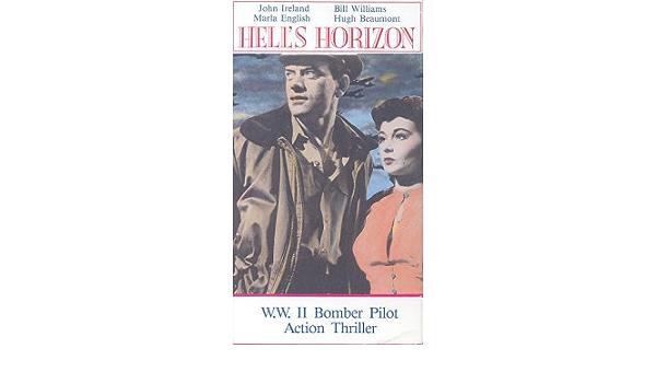 Hell/'s horizon John Ireland vintage movie poster print