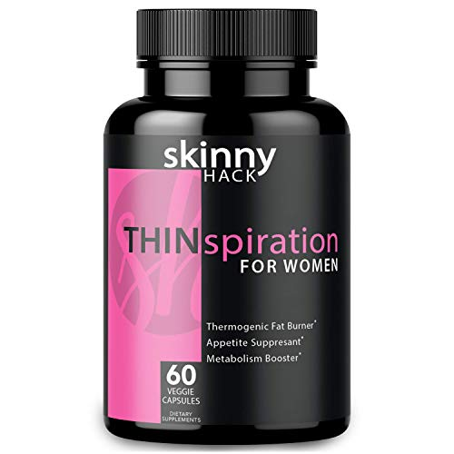 SkinnyHack - Thermogenic Fat Burner for Women - Weight Loss Pills