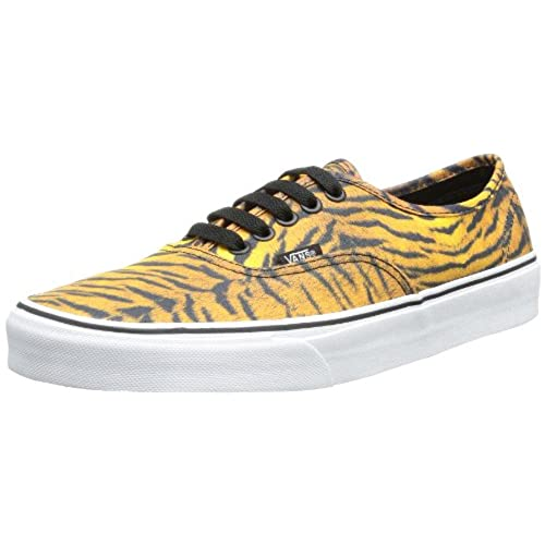 cf7db92f83 Vans Womens Authentic Tiger Brown True White Skateboarding Shoes low-cost