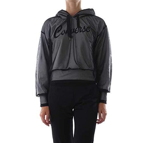 Converse Converse 10008987 10008987 Noir Converse Sweatshirt Noir Sweatshirt Femmes Femmes qCXxrq