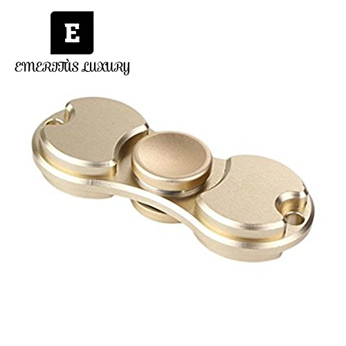 Toptoy hand spinner, Precision Brass EDC Fidget Spinner with Durable ceramic Bearings last 3 min Spins