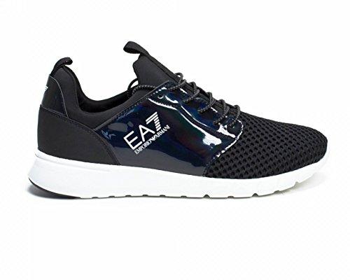 Turnschuhe EA7 EMPORIO ARMANI Herren 278090 7P299E00220 Schwarz Noir