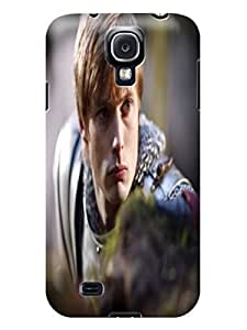 cellphone accessory-phone protective case + fashionable New Style Merlin TPU skin for SamSung Galaxy s4 WANGJING JINDA