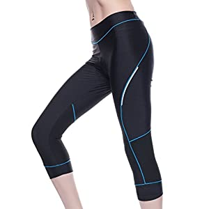 4ucycling Women Premium 3D Padded Breathable Cycling Tights