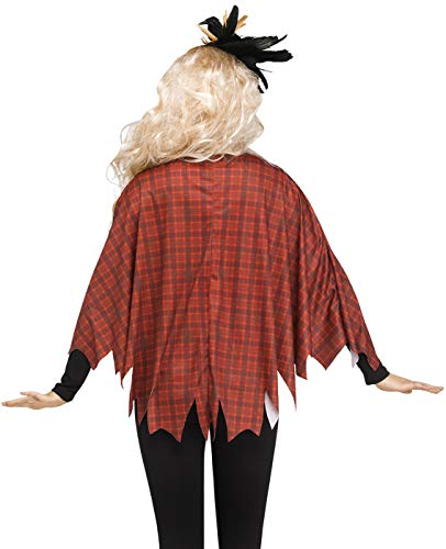 Womens Scarecrow Poncho - http://coolthings.us