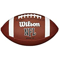 Wilson Nfl Approved Official Size Bin Xb Entry