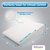 Bed Wedge Pillow | Unique Curved Design for Multi