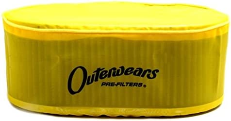 Yellow Outerwear Prefilter Oval 5.5 X 9 X 3.5 10-1098-04