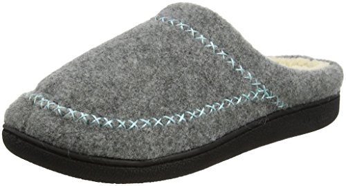 Gris Light X Dearfoams Stitch 00071 Heather Pantoufles Felt Femme Grey Clog 5xF77Yq0w