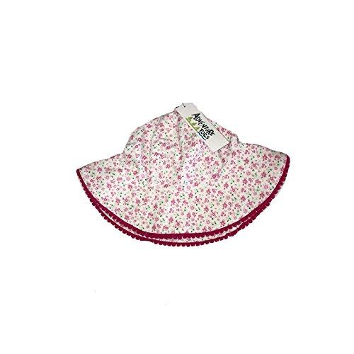 Coton Tout En Avec Blanc De chapeau Togs Pour Adventure Soleil Motif Bob Filles Floral Des petits Et wRqY447