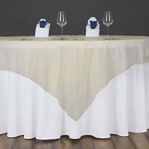 efavormartオーガンジーテーブルオーバーレイ60