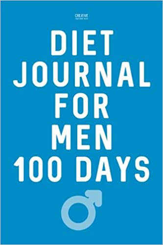 diet journal for men 100 days weight loss and exercise diary