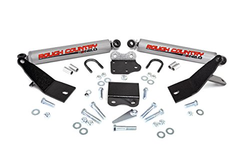 4wd Dual Steering (Rough Country - 87495.20 - Dual Steering Stabilizer w/ Premium N2.0 Shocks for Dodge: 03-10 Ram 2500 4WD, 03-10 Ram 3500 4WD; Ram: 11-13 2500 4WD, 11-12 3500 4WD)