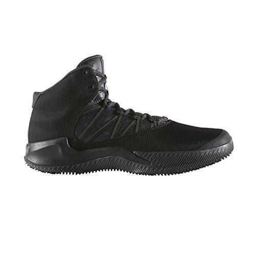 adidas Performance Men's Ball 365 Inspired Basketball Shoe, Black/Utility Black/White, 11.5 Medium - 365 Shop