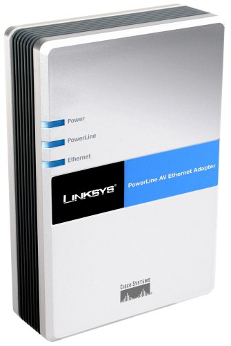 Cisco-Linksys PLE200 PowerLine AV Ethernet Adapter by Linksys