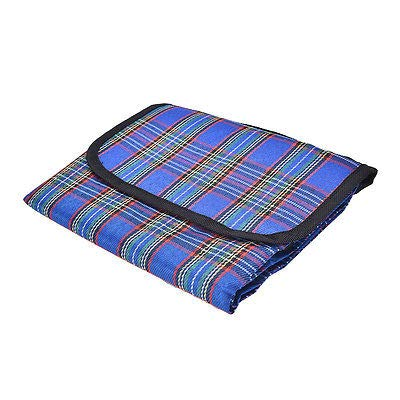 FidgetGear Waterproof 80x150cm Outdoor Beach Camping Picnic Moistureproof Mat Blanket TS Blue from FidgetGear