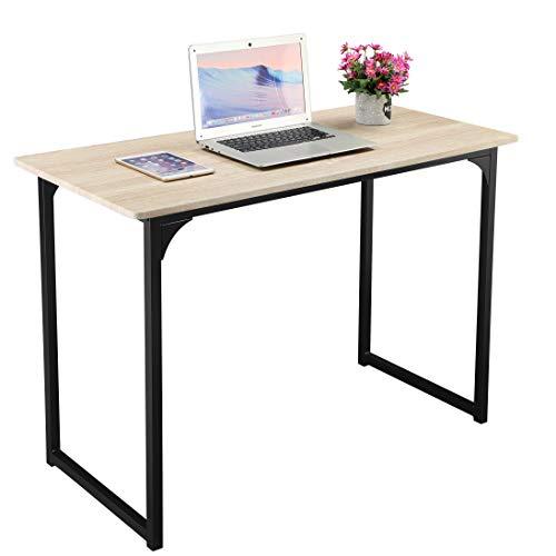 (GreenForest Computer Desk 43 Inch Desktop Easy Assembly Home Office Desk Workstation,)