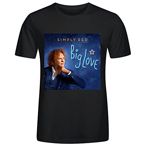 Simply Red Big Love T Shirt Mens - Houston Tom Ford