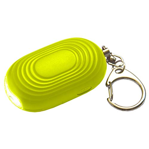- Emergency Personal Alarm Keychain - 130 dB Siren Device with LED Light to Increase Safety - SOS Alert Key Chain with 3 Security Modes for Women, Men, Children, Elderly, and Joggers by WETEN, Yellow