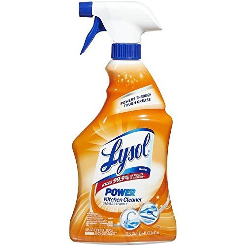 Lysol Antibacterial Kitchen Cleaner, Citrus Scent, 22 Ounces (Pack of 2) (Citrus Benckiser Reckitt Scent)