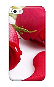 Pretty LlcdCQf6412ZWqKD Iphone 5/5s Case Cover/ Adorable Roses Series High Quality Case